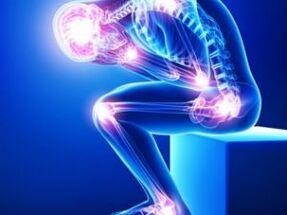 Kogu uhine ravi Haige jalad ja harjad