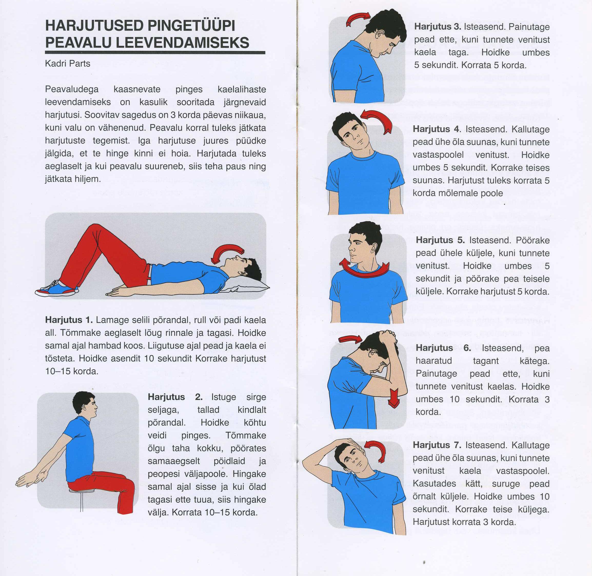 Jatkata peavalu valus liigesed parast magamiskohti