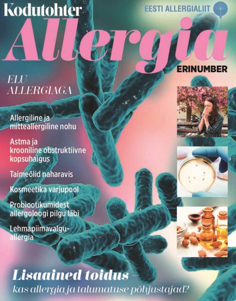 Sulges haiget allergiatega Vereringeliidete ravi