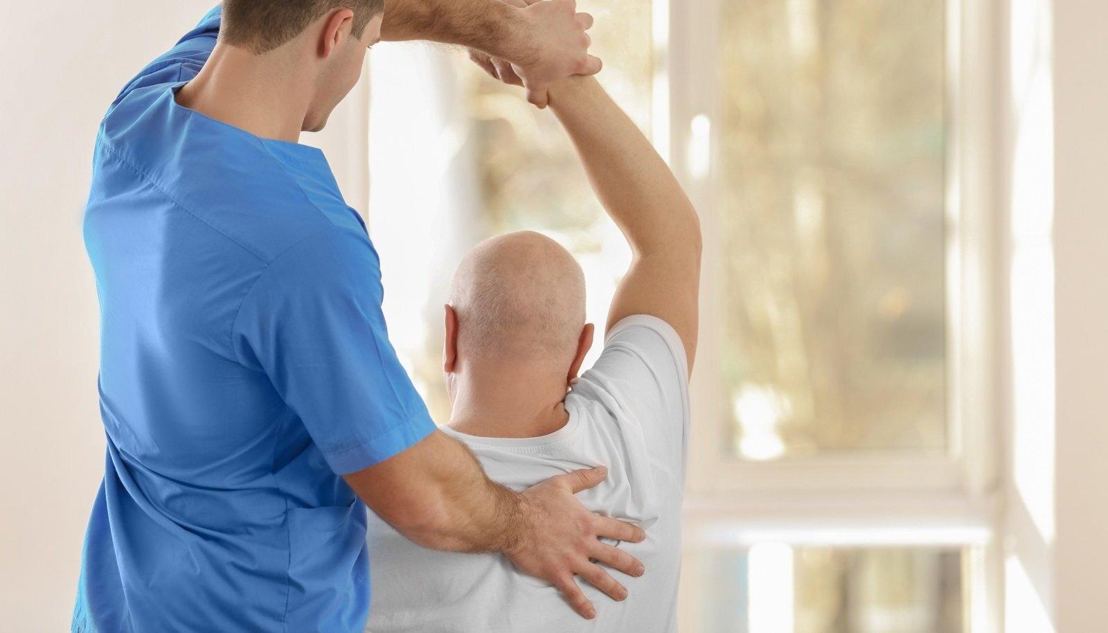 Ravi menovazin liigestega Artriidi kuunarnuki uhine, mis see on