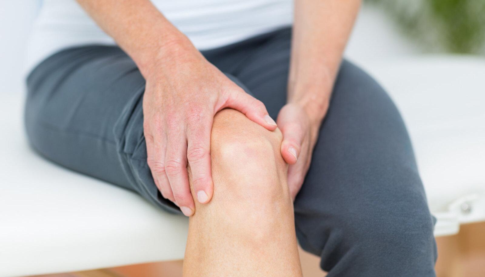 Ravi valu liigestes folk meetodite