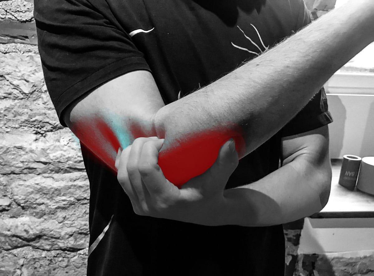 Puhja pigistamine valutab kuunarnuki Liigeste magician ravi
