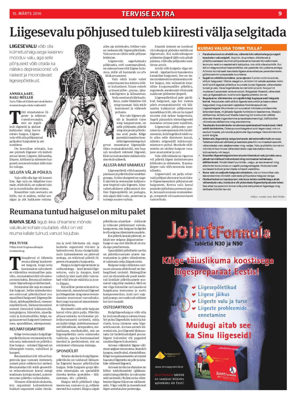 Pusiv valu luud ja liigesed Osteopaatia Artrisa ravi